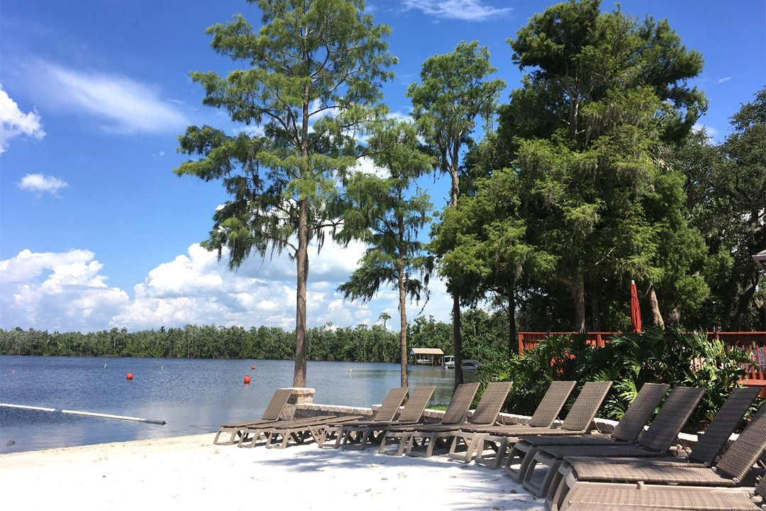 The beach at Cypress Cove