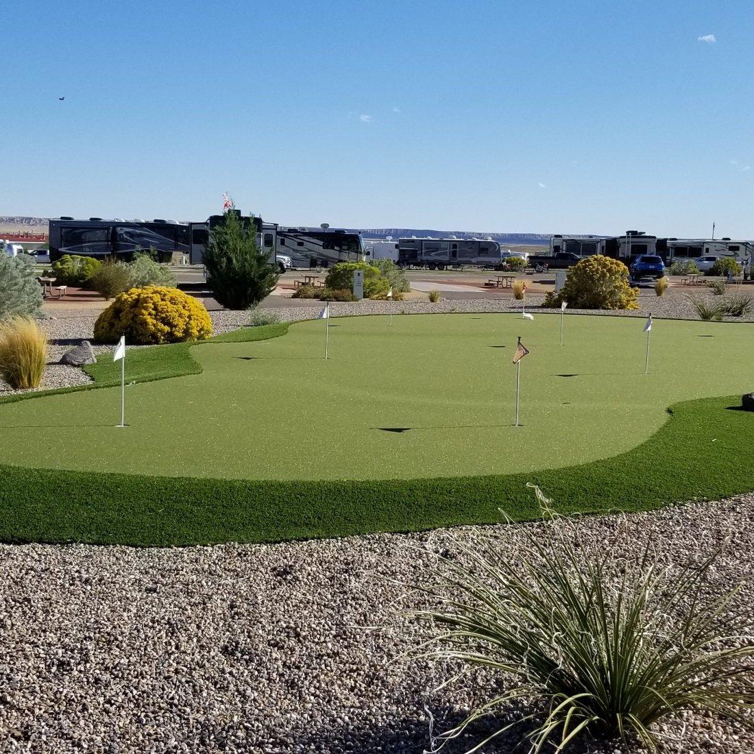 Albuquerque's Route 66 RV Resort; website photo