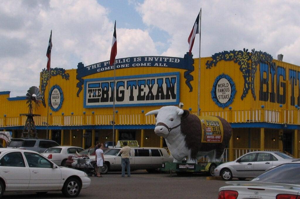 Big Texan Steak Ranch in Texas