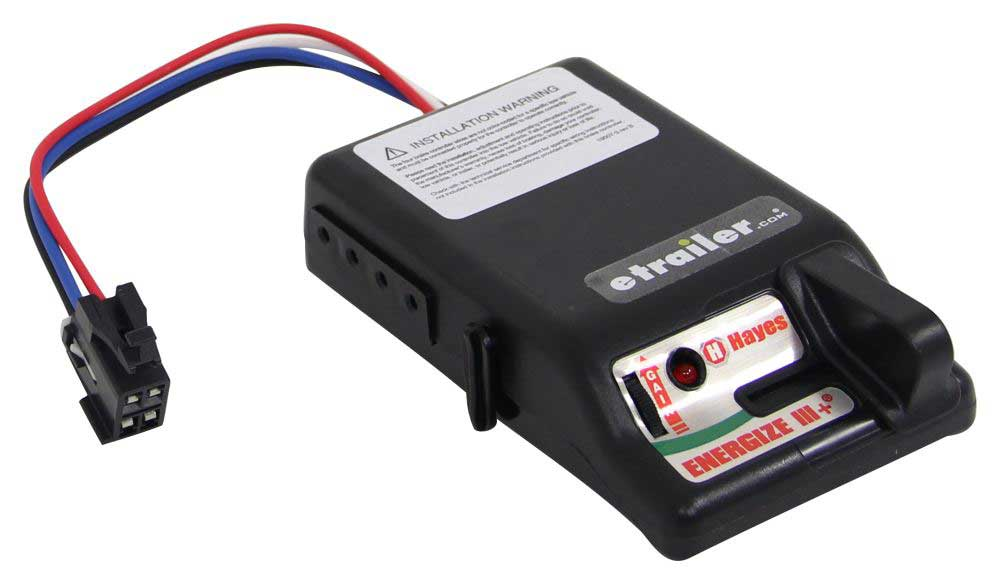 Electric brake controller for RV trailers from Hayes