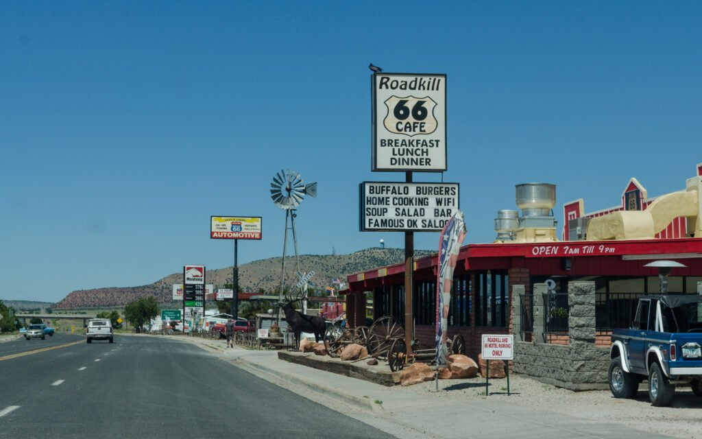 Roadkill Cafe - one of the popular Route 66 diners
