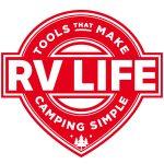 RV LIFE logo stamp