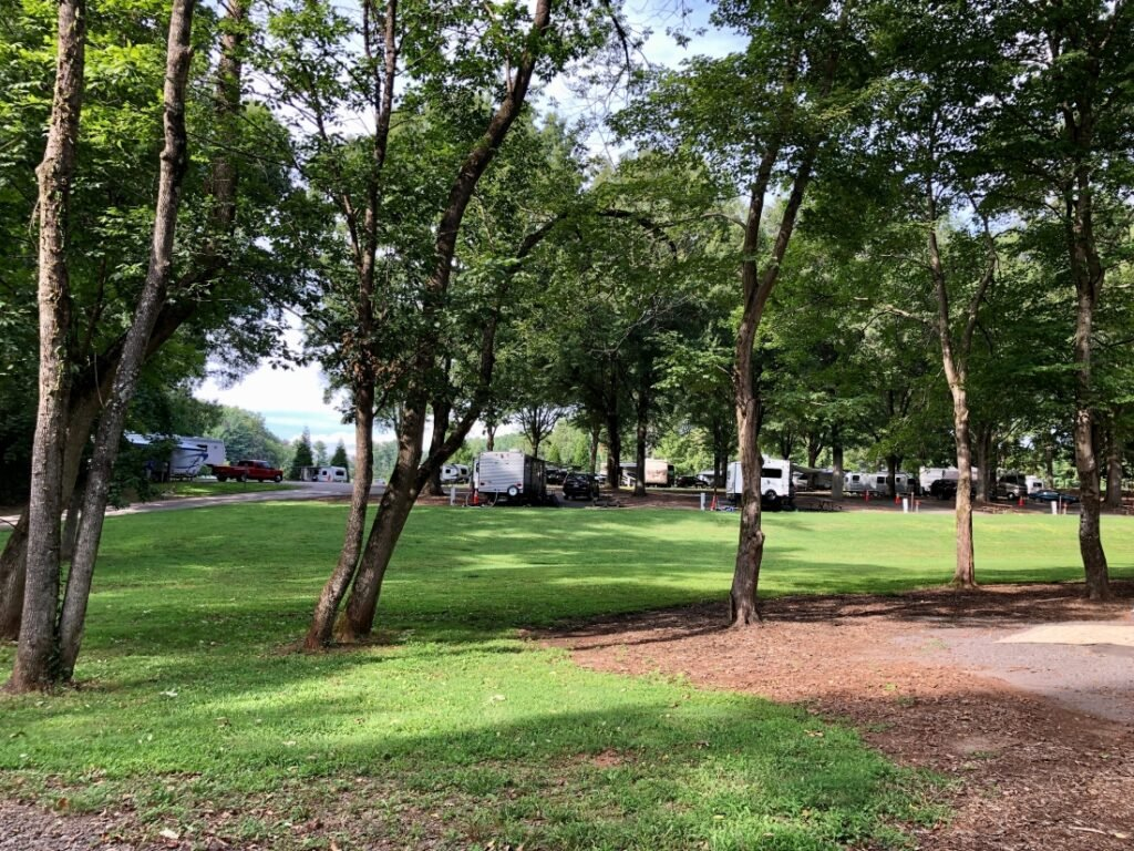 Tanglewood Park Campground