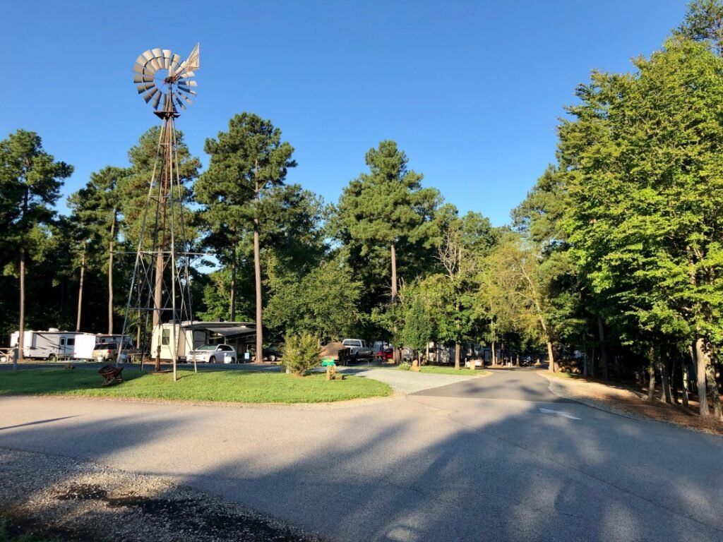 Cross Winds Family Campground - one of the top RV parks in North Carolina