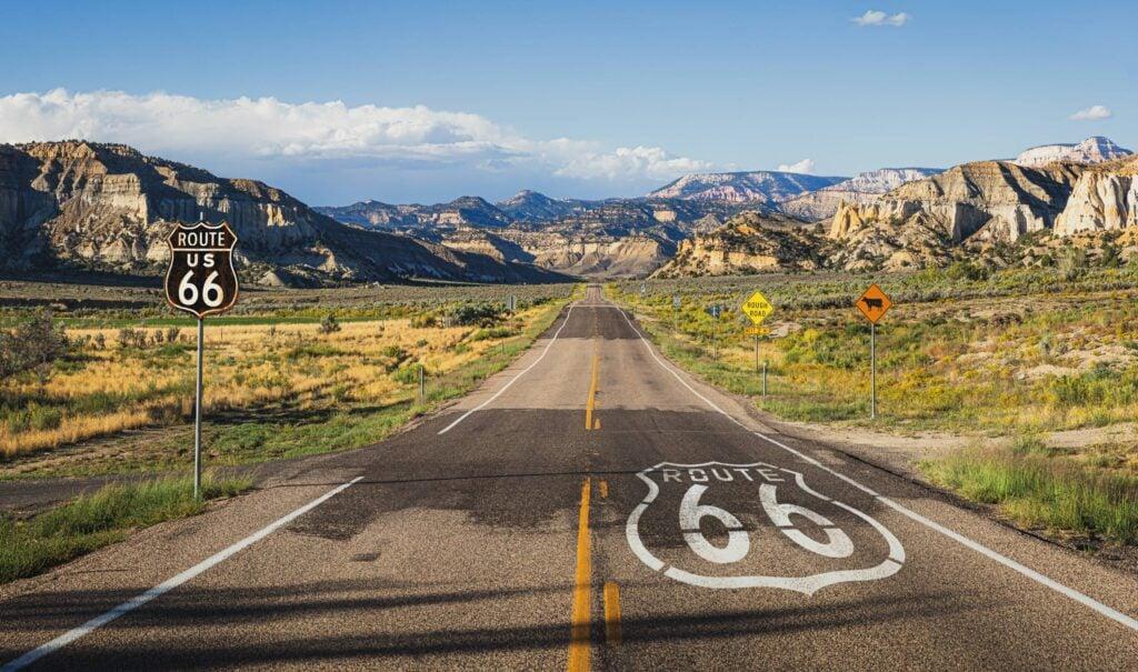 route 66 landscape