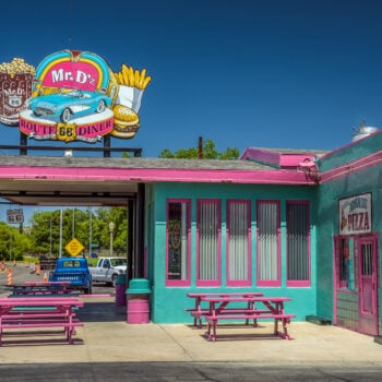 Route 66 diners in Arizona
