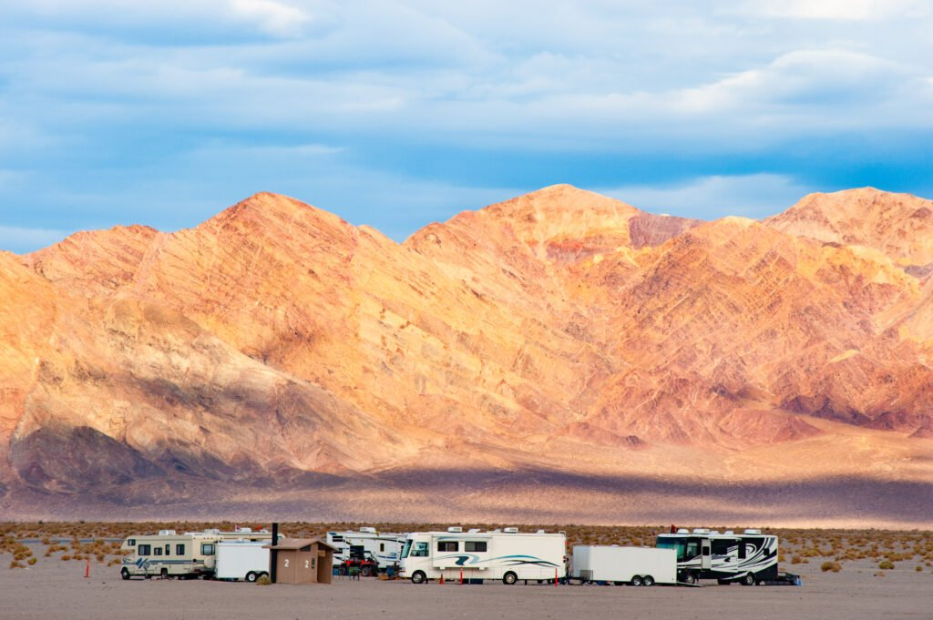 Death Valley National Park campground for big rigs