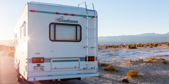 used RV for sale in desert