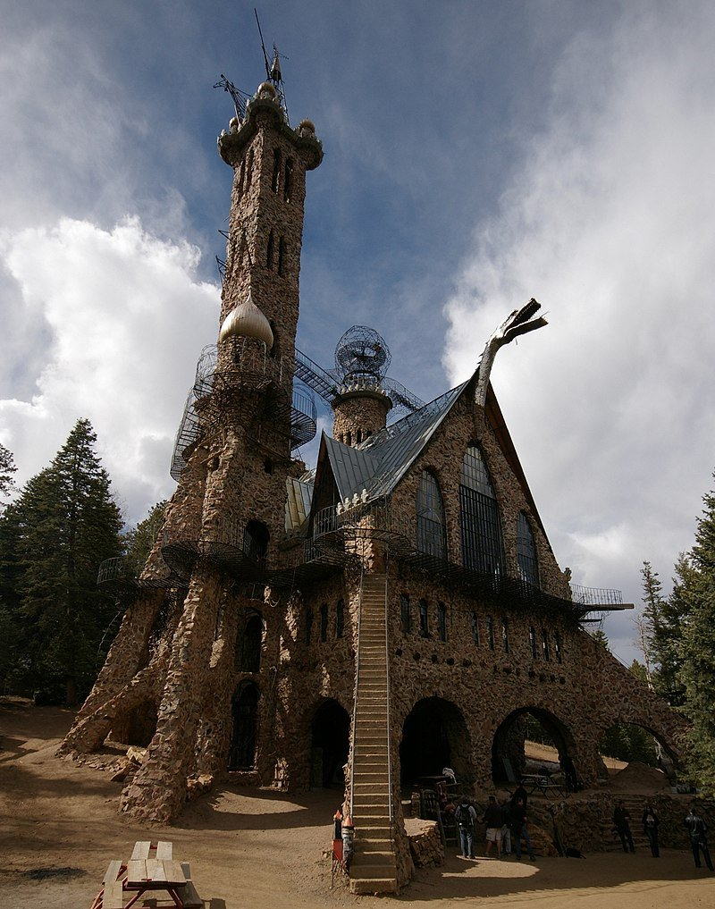 Bishop Castle on the edge of the San Isabel National Forest