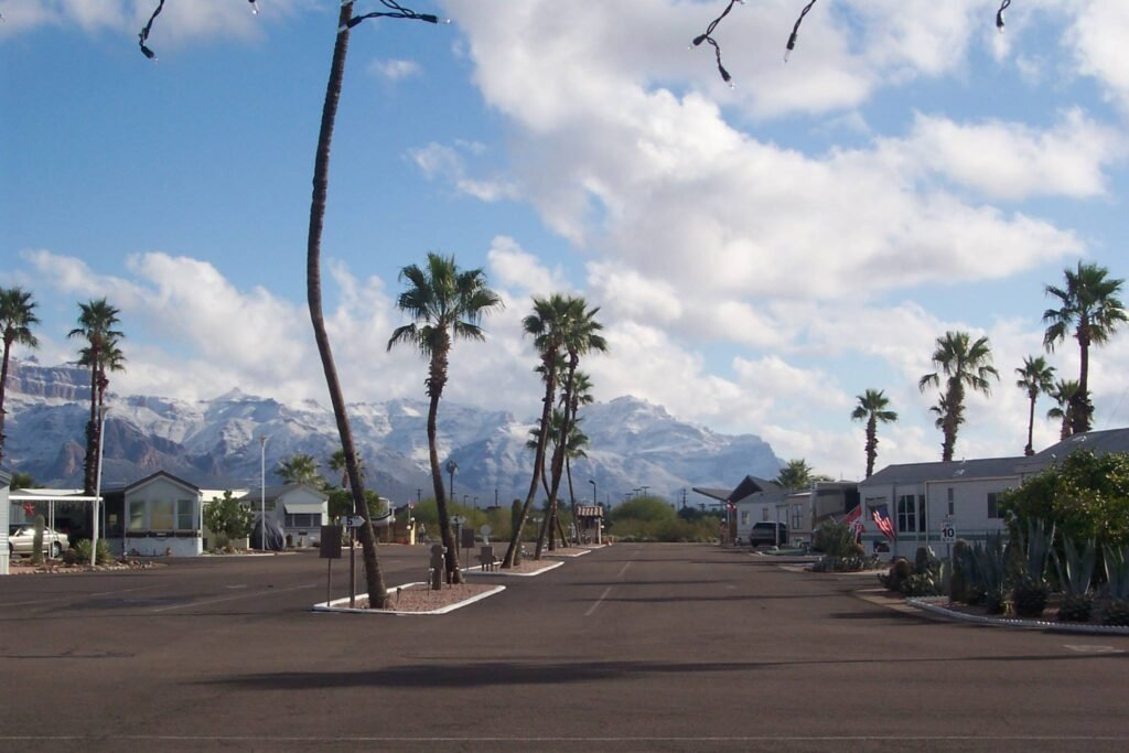 view of Rock Shadows RV Resort