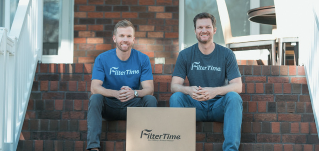 Blake Koch and Dale Earnhardt Jr. of FilterTime