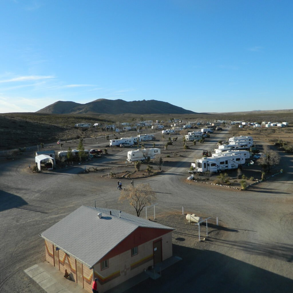 aerial view of Hidden Valley Ranch Resort