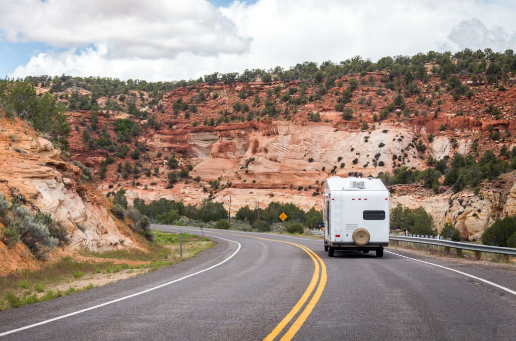 RV driving in Utah - with RV driving tips